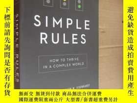 二手書博民逛書店SIMPLE罕見RULES:How to thrive in a