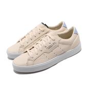 adidas 休閒鞋 Sleek W 黃 白 女鞋 蛇紋 運動鞋 皮革 【ACS】 EE4723