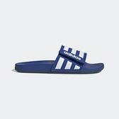 Adidas Adilette Comfort [EG1347] 男女鞋 涼鞋 拖鞋 游泳 穿搭 情侶 愛迪達 藍 白