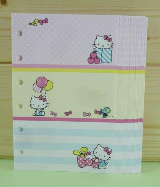 【震撼精品百貨】Hello Kitty 凱蒂貓~補充內頁~三切~氣球