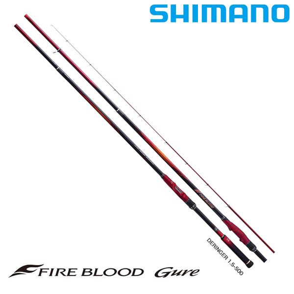 漁拓釣具 SHIMANO 19 熱血 FIRE BLOOD DM 15-530 [磯釣竿]