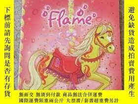 二手書博民逛書店Flame罕見(Magic Pony Carousel)Y214