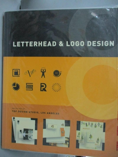 【書寶二手書T3/設計_XGW】Letterhead and logo design 8_Top Design Stud