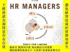 二手書博民逛書店Financial罕見Analysis For Hr Managers: Tools For Linking Hr