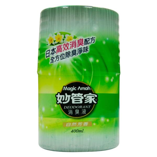 【奇奇文具】妙管家 400ml 自然芳香廁所消臭液