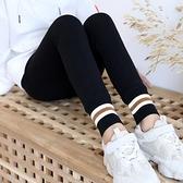 女童打底褲春秋薄款外穿純棉兒童褲子秋冬加絨洋氣大童緊身褲薄絨 韓語空間