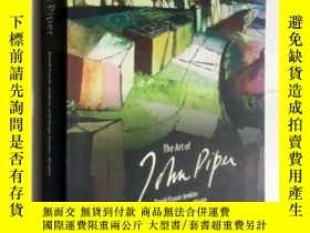 二手書博民逛書店The罕見Art of John Piper 約翰·派珀的藝術 藝術畫冊 精裝Y23200 Luke Pipe