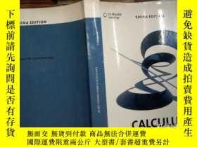 二手書博民逛書店CALCULUS罕見OF A SINGLE VARIABLE F