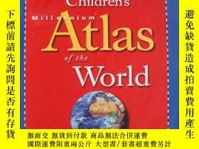 二手書博民逛書店Children s罕見Millennium Atlas of