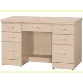 書桌 電腦桌 CV-633-4 歐式白橡4尺學生書桌 (不含其它產品) 【大眾家居舘】