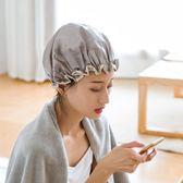 浴帽防水成人女款淋浴沐浴帽子韓國家用長發洗澡頭套發罩可愛浴帽 小巨蛋之家