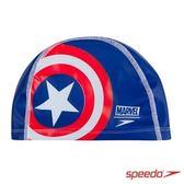(A5) speedo 兒童合成泳帽 Pace 美國隊長 SD811307C842 卡通泳帽 搭配泳鏡