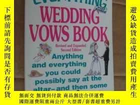 二手書博民逛書店THE罕見EVERYTHING WEDDING VOWS BOO