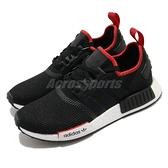 adiidas 休閒鞋 NMD_R1 黑 紅 男鞋 女鞋 Boost 中底設計 運動鞋 襪套式 【ACS】 FZ3449