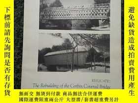 二手書博民逛書店Replicate:罕見The Rebuilding of the Corbin Covered Bridge i