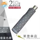 雨傘 陽傘 萊登傘 抗UV 防曬 輕 色膠 黑膠 自動傘 自動開合 Leighton 圓點 (灰色)