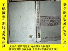 二手書博民逛書店simulation罕見modeling and analysis 微生物學年鑒Y261116