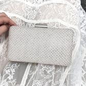 包包女韓版鏈條小包水鉆包時尚宴會斜挎包鑲鉆晚宴手拿包