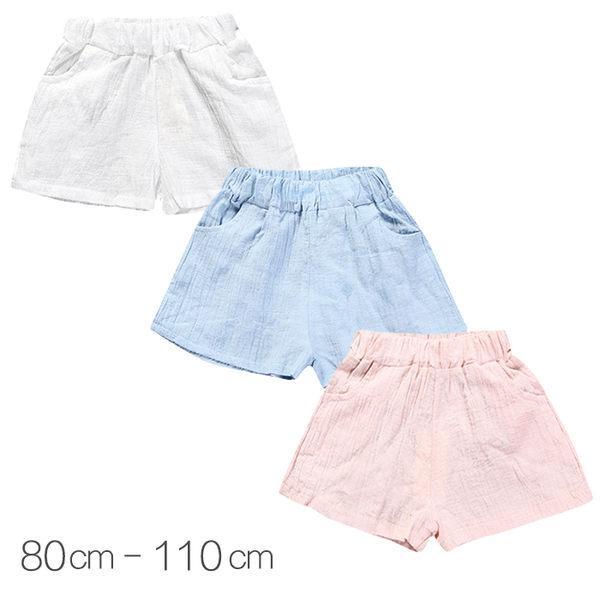 寶寶短褲 棉紗短褲 透氣嬰兒短褲 中小童裝 SK6196 好娃娃