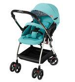Aprica愛普力卡 Optia新視野 四輪自動定位導向型嬰幼兒手推車(哈潑綠)