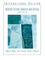 二手書博民逛書店《Modern Systems Analysis and Des
