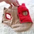 寵物衣服 兩面寵物衣服小狗狗棉衣馬甲小型犬貓咪泰迪比熊吉娃娃厚款秋冬裝 夢藝