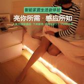 小夜燈 智能人體感應燈帶 LED小夜燈自動起夜光臥室衣柜床頭下邊床底燈帶 巴黎春天