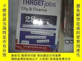二手書博民逛書店2011罕見TARGET JOBS CITY FINANCE 目標就業城市金融(11)Y261116