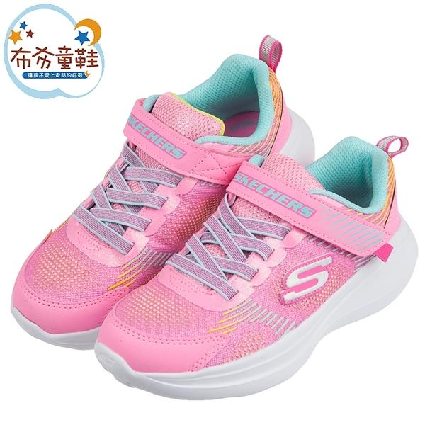 《布布童鞋》SKECHERS_GO_RUN_FAST亮點桃粉兒童運動鞋(17~23公分) [ N0Y403G ]