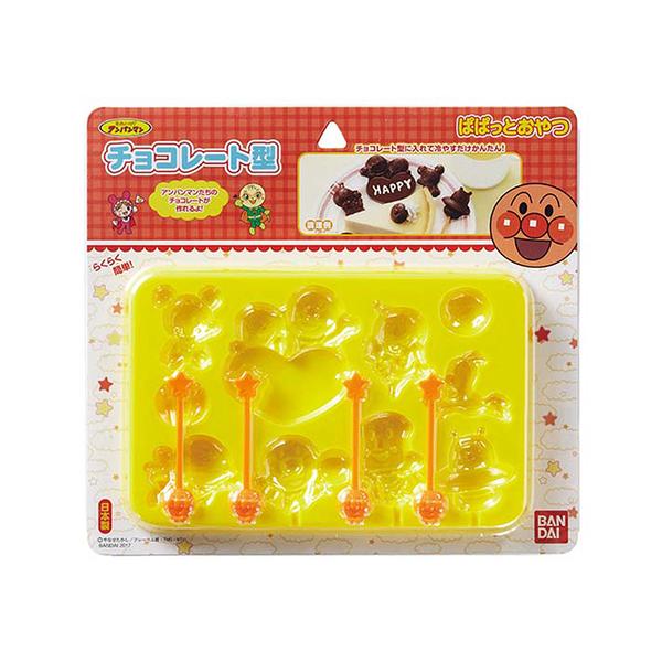 日本帶回 麵包超人 巧克力製作盒037163  特價