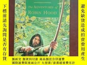 二手書博民逛書店The罕見Adventures of Robin Hood【羅賓