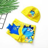 男童泳衣 兒童泳褲男童游泳衣卡通平角速干小童寶寶泳衣中大童男孩韓國 多色小屋