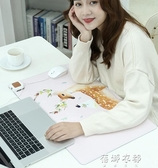暖桌墊加熱桌墊辦公電腦加熱滑鼠墊桌面學生保暖暖手寫字臺電熱板 歐韓流行館