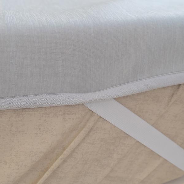 日系素色 【雙人】涼感墊一入 涼感纖維 Q-Max值達0.328 輕膚涼爽【超取限購一件】 涼墊 夏季推薦