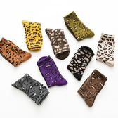 豹紋襪子長襪女潮ins韓國學院風網紅秋冬季純棉加厚中筒襪堆堆襪3雙 亞斯藍