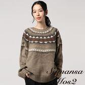 ❖ Winter ❖ 幾何圖形長袖針織上衣 (提醒➯SM2僅單一尺寸) - Sm2