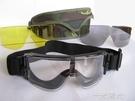 戰術沖擊防護送迷彩盒.防唾沫飛濺防護擋風護目鏡防塵 一米陽光