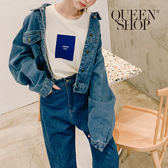 Queen Shop【02050240】短版寬袖牛仔外套*現+預*