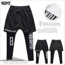 KONY【AS9540】《美式黑白色系街...