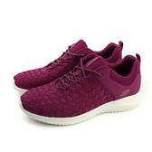 SKECHERS 休閒運動鞋 女鞋 紫紅色 12845RAS no847