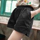 休閒短褲女寬鬆韓版高腰大碼顯瘦寬管運動熱褲夏季2021新款外穿潮 【端午節特惠】