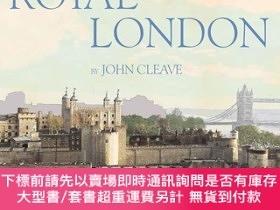 二手書博民逛書店Royal罕見London Sketchbook,皇家倫敦素描,英文原版Y449990 John Cleave
