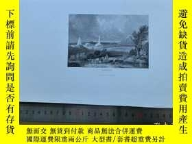 二手書博民逛書店【罕見】19世紀 銅 鋼版畫 單幅 WATERLOO ( 200