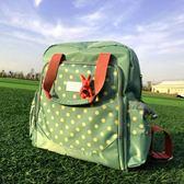 媽咪包雙肩包 韓版大容量多功能時尚媽媽包手提孕母嬰包外出WD    電購3C