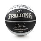 SPALDING 街頭素描-Rubber 籃球 (7號球 斯伯丁 NBA 免運 ≡排汗專家≡