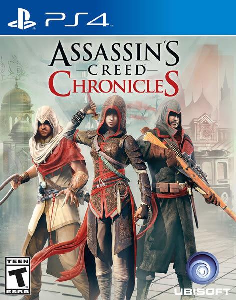 PS4 Assassin's Creed Chronicles 刺客教條:編年史三部曲(美版代購)