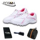 高爾夫球鞋 女士固定釘球鞋 高爾夫女士運動休閒鞋 GSH016PNK