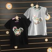 ☆棒棒糖童裝☆(A59043)夏女大童珍珠小熊休閒上衣 120-170