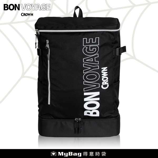 CROWN BONVOYAGE 旅行後背包 超大容量 可放水瓶 MCL5110 得意時袋