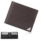 Calvin Klein經典LOGO鐵牌RFID防盜多卡短夾(咖啡色)103093-1